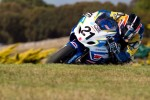 Josh racing at Philip Island Round 1 ASBK - 